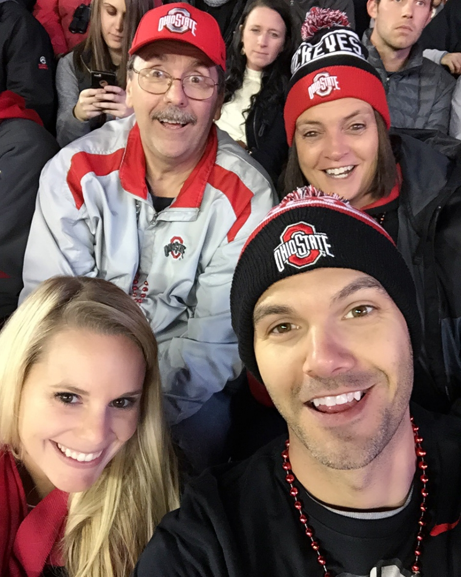 I took one day off work to go home for a Buckeyes game and I was fired. We beat Minnesota 28-14 that night. If I had it to do over...I wouldn't change a thing! GO BUCKS!