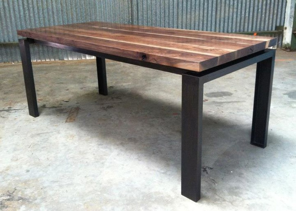 Claro Walnut Farm Table