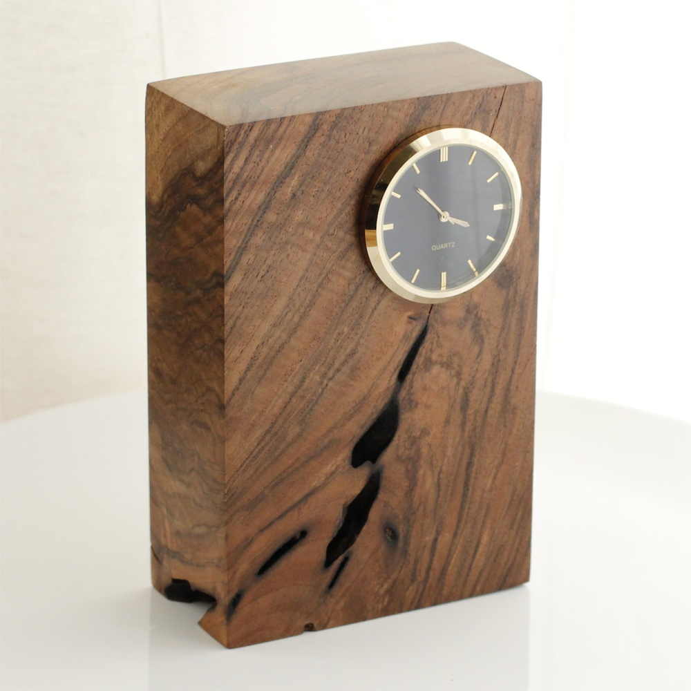 Walnut Desktop Timepiece