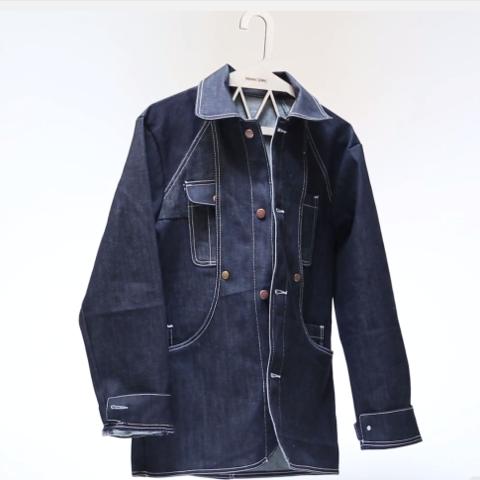 Unisex Work Coat Collaboration with Agelio Batle