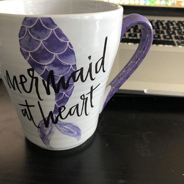 Having tea and working on my accounting documents.  #workflow #mermaidatheart #tea #mermaid #realestate #accountinghastobedone