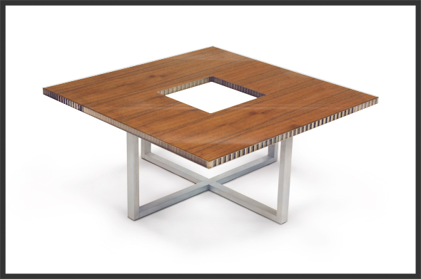 infinity square a table