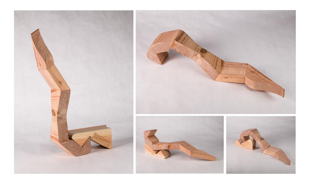 """Wood Toy"", Wood, 2014, 18"" x 6"" x 5.5"""
