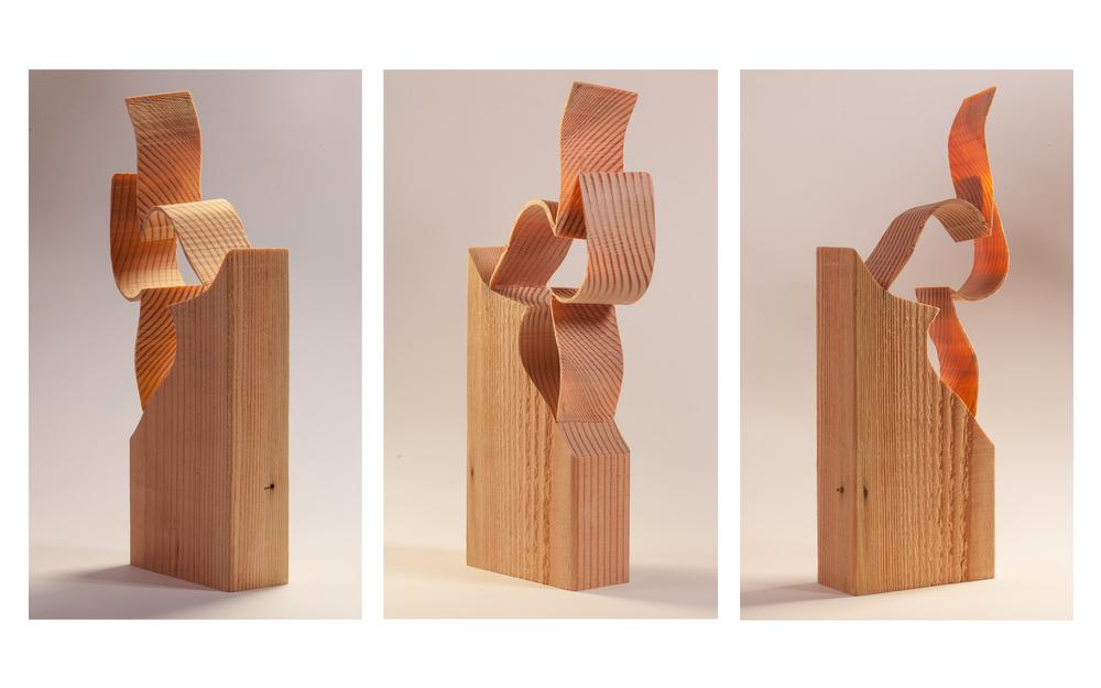 """Copy of """"Untitled Wood"""", 2014, Wood, 10"""" x 2"""" x 3.5"""""""