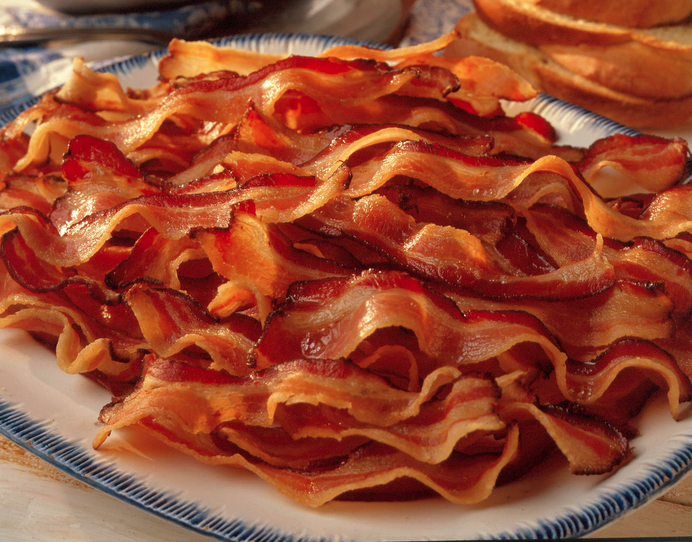 Yummy bacon!