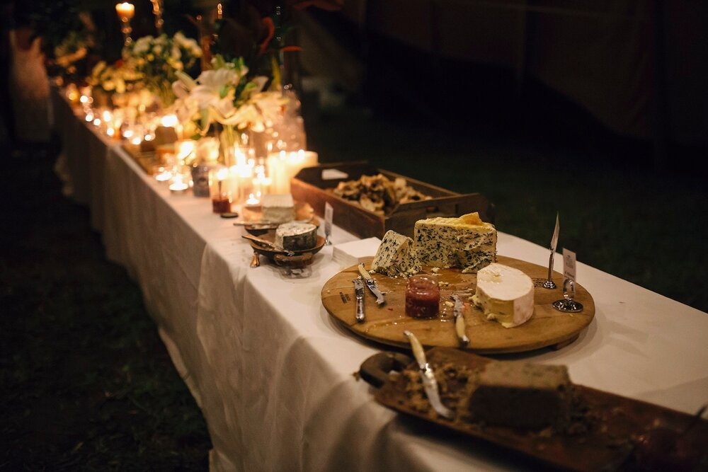 wedding event bar catering cheese grazing