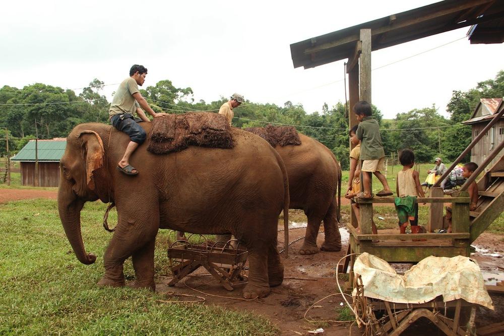 Il villaggio di Putang