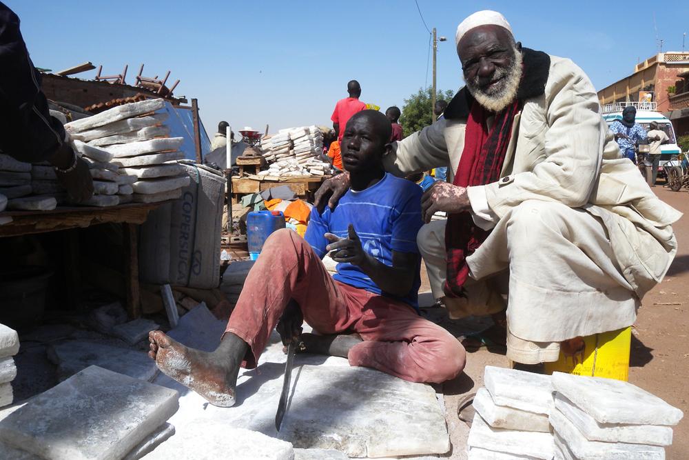 Mopti, mercanti di sale