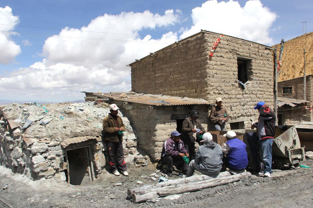Le case dei minatori