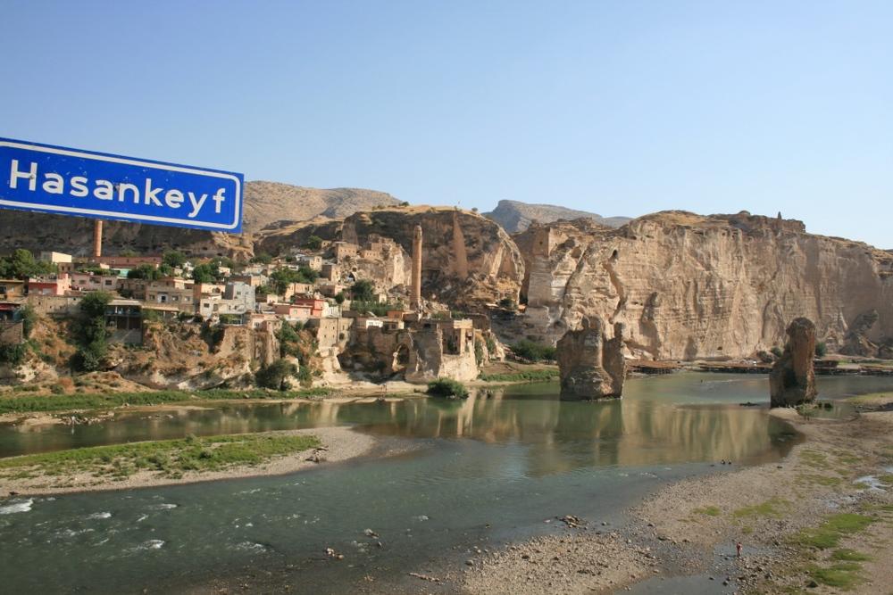 Hasankeyf e il fiume Tigri