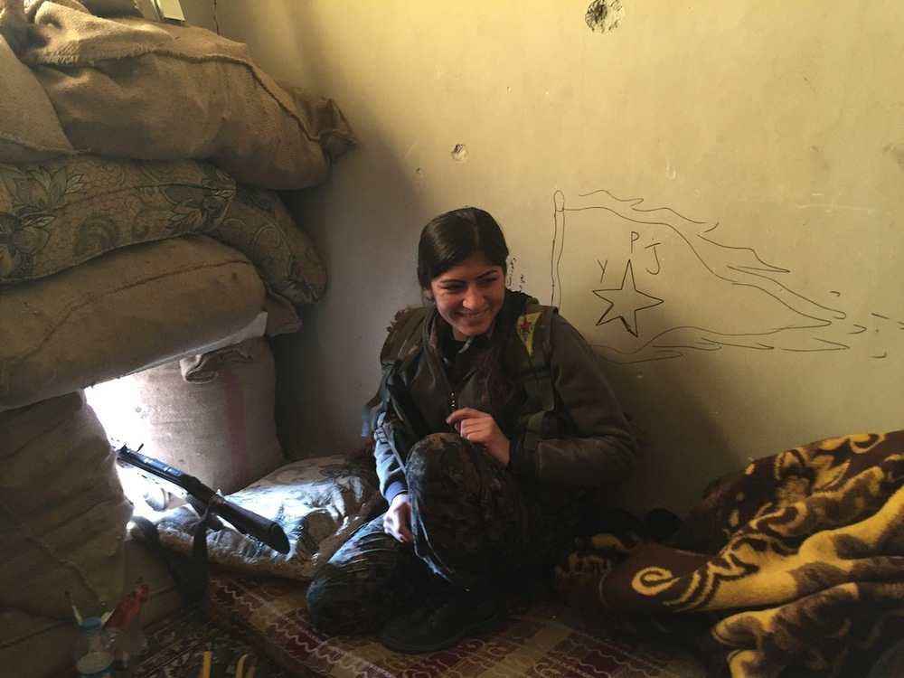"Kobane. Foto di Ivan  ""  Grozny"" Compasso"