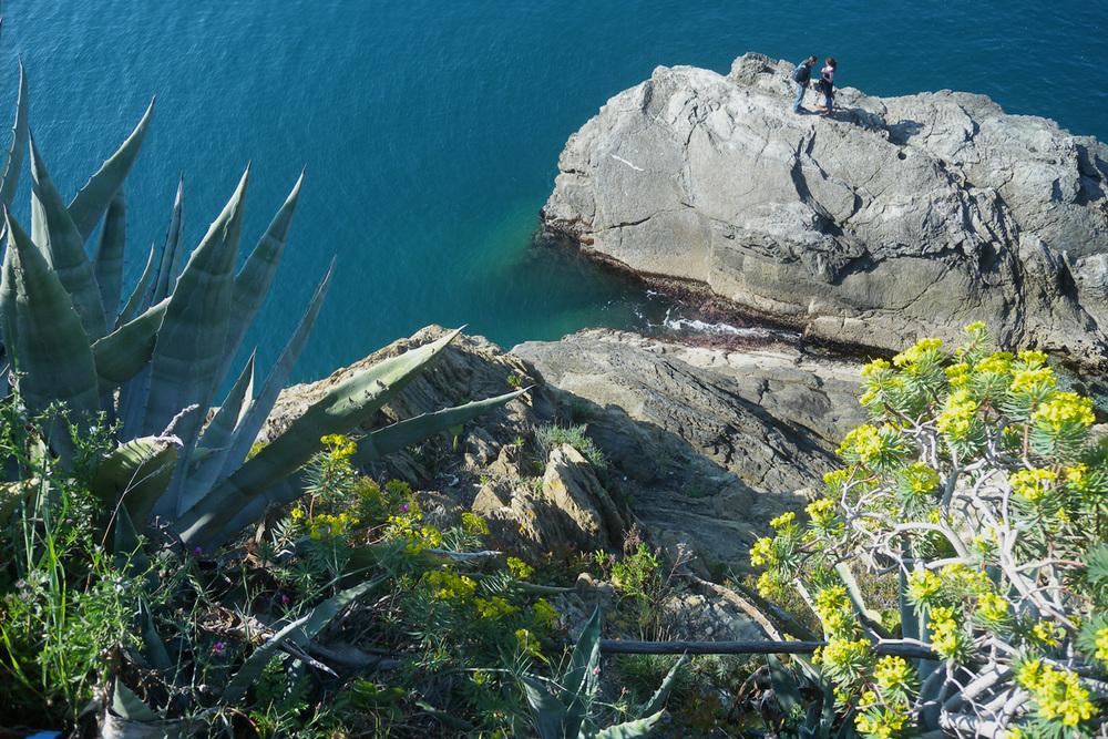 Le Cinque Terre (foto di Massimiliano Salvo)