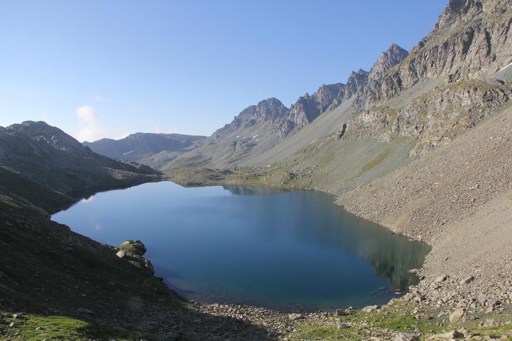 Il lago grande di Viso