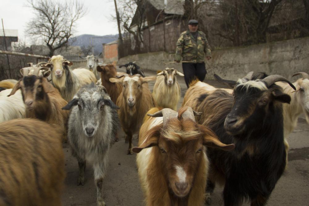 Un villaggio del Nagorno Karabakh