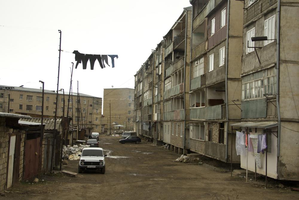 Shushi era una delle città più grandi del Caucaso meridionale, ma durante la guerra fu abbandonata da buona parte degli abitanti