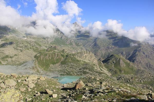 Lago Chiaretto, intorno al Monviso