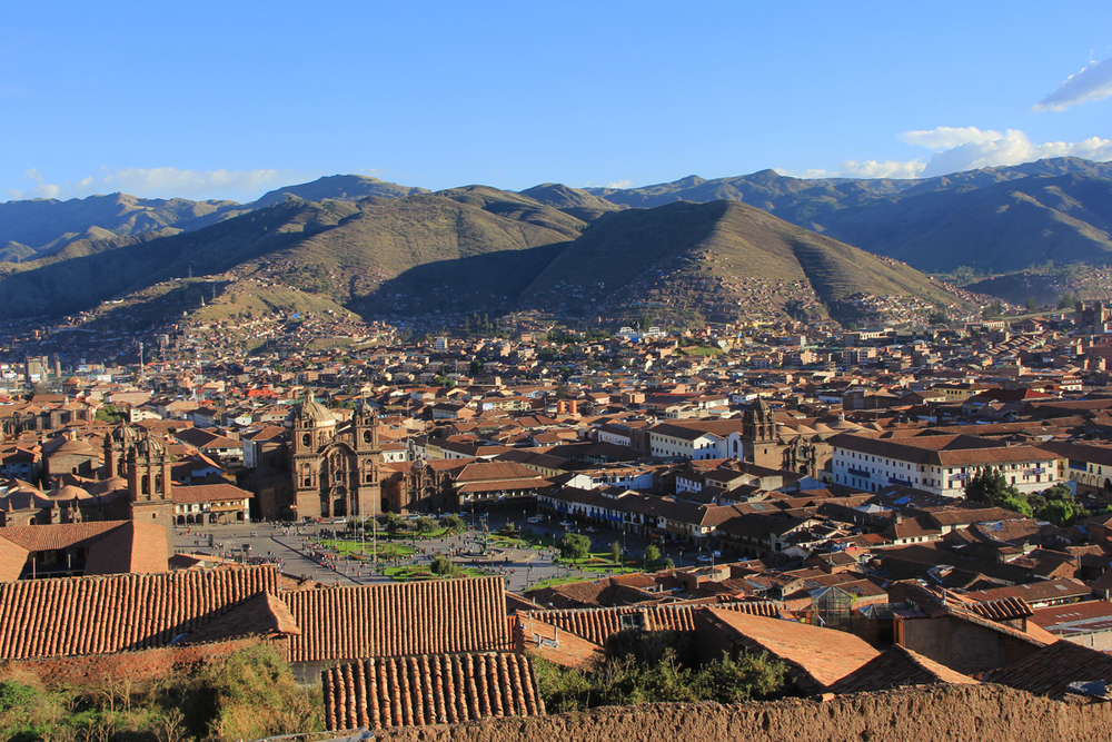 Cusco, 3400 metri.