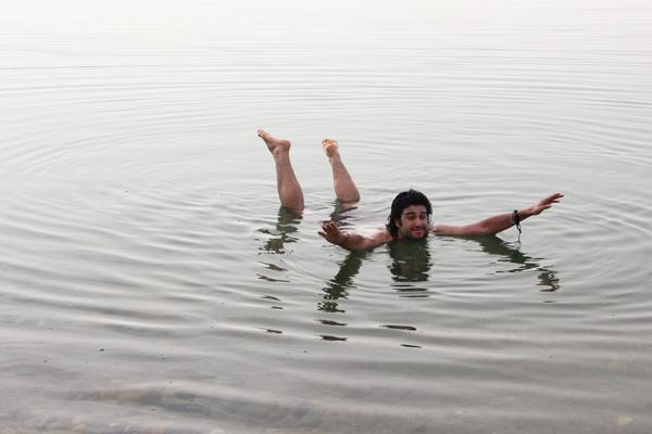 Io che galleggio