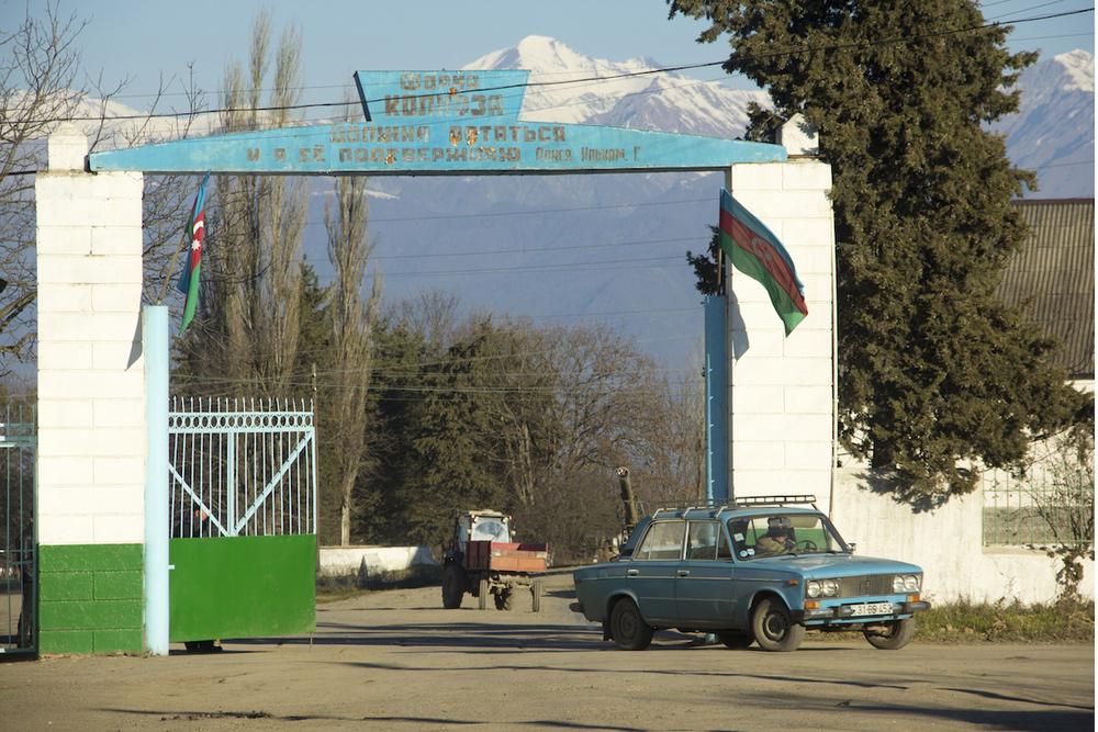L'ingresso del kolkhoz