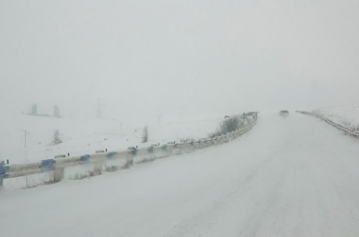 Vorotan Pass, 2344 metri.
