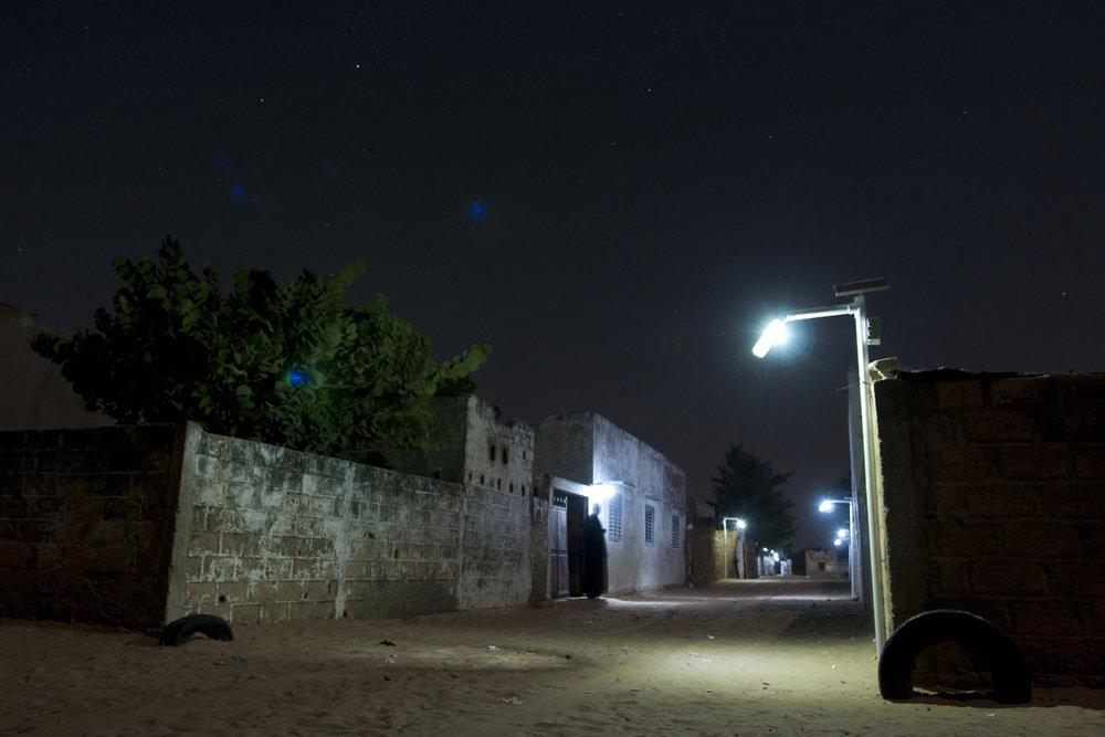 Senegal la luce è in bottiglia u massimiliano salvo