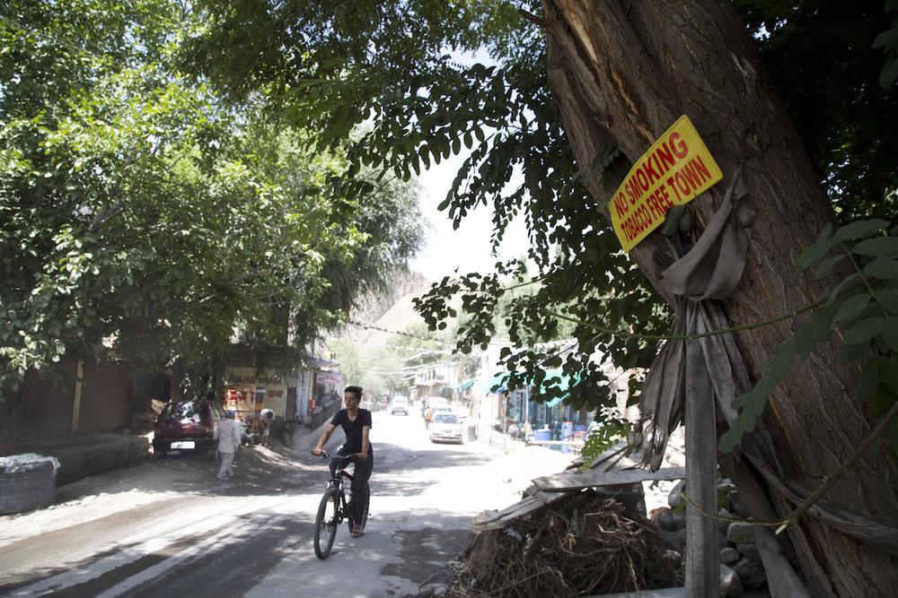 La strada principale (l'unica) di Khalsi