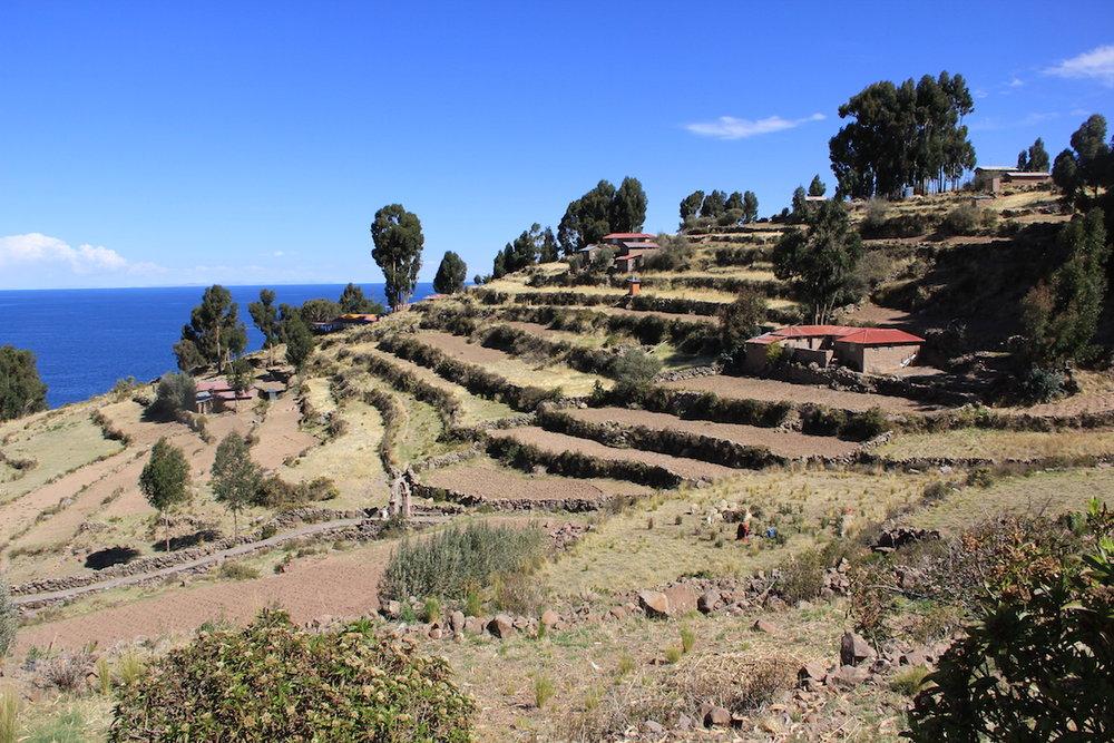 Lago Titicaca, isola di Taquile