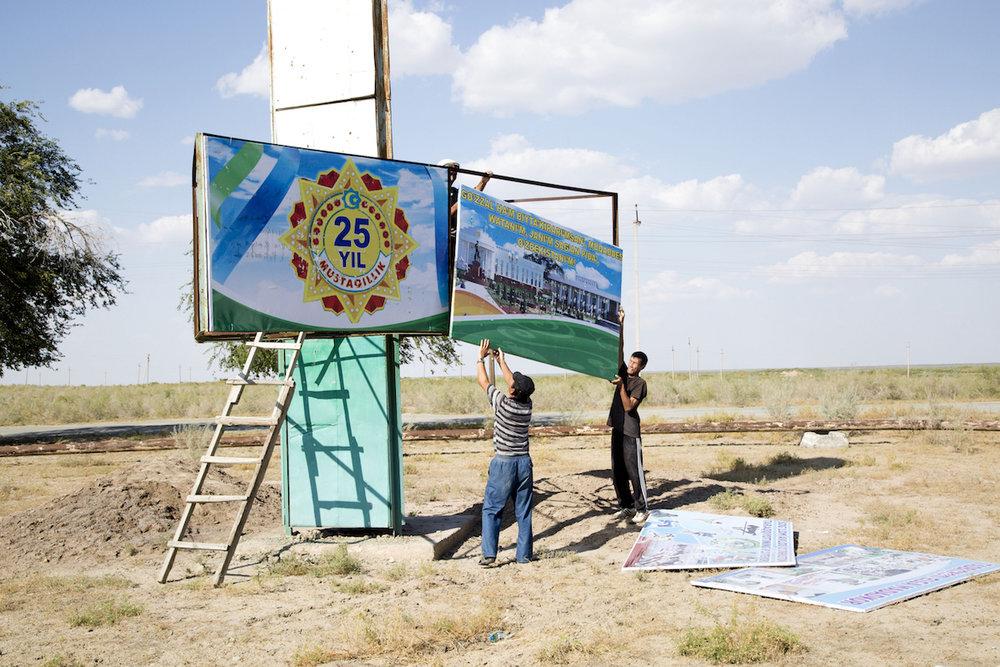 Moynaq, preparativi per il 25esimo anno dell'indipendenza