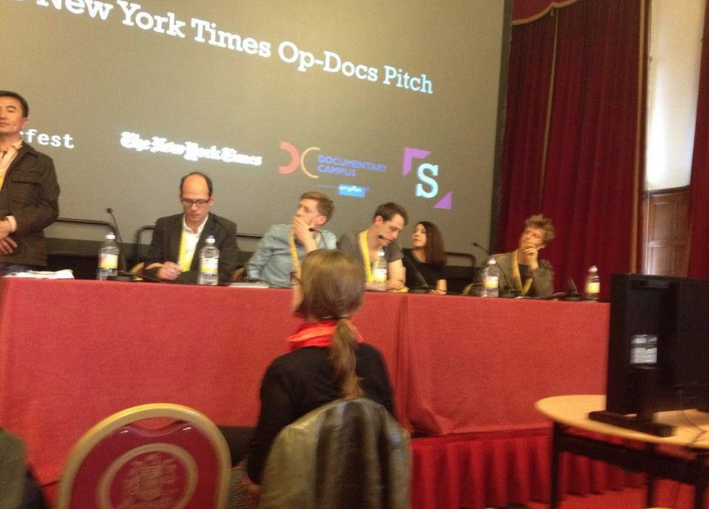 New York Times Op-Doc Pitch at Sheffield Doc Fest