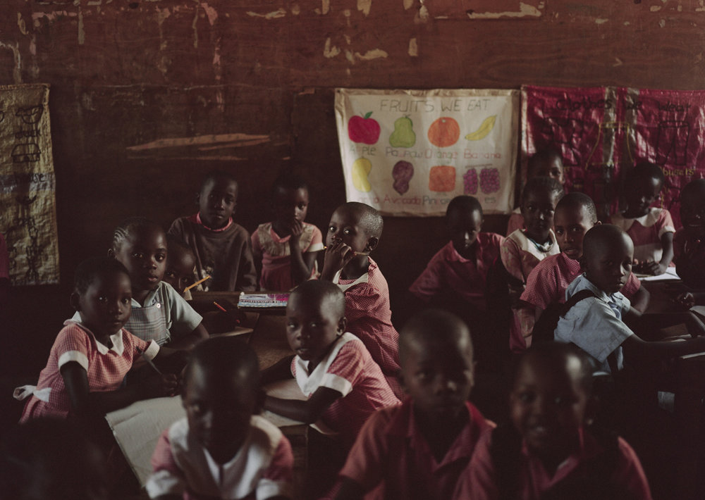 second-graders. Malinda, Kenya