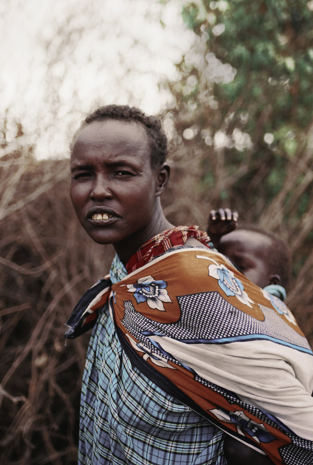 masai woman/kenya