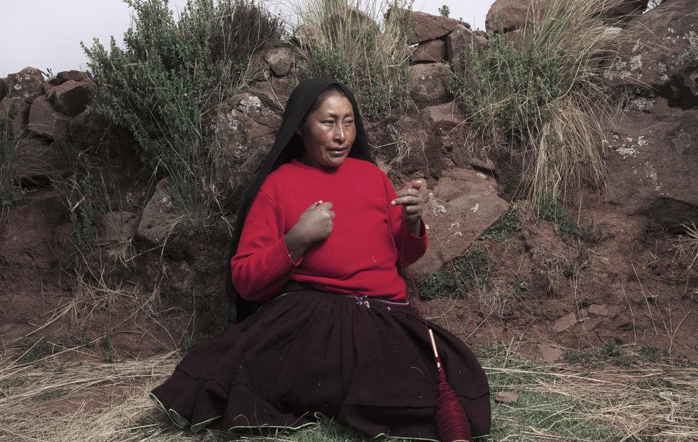 lake titicaca/peru