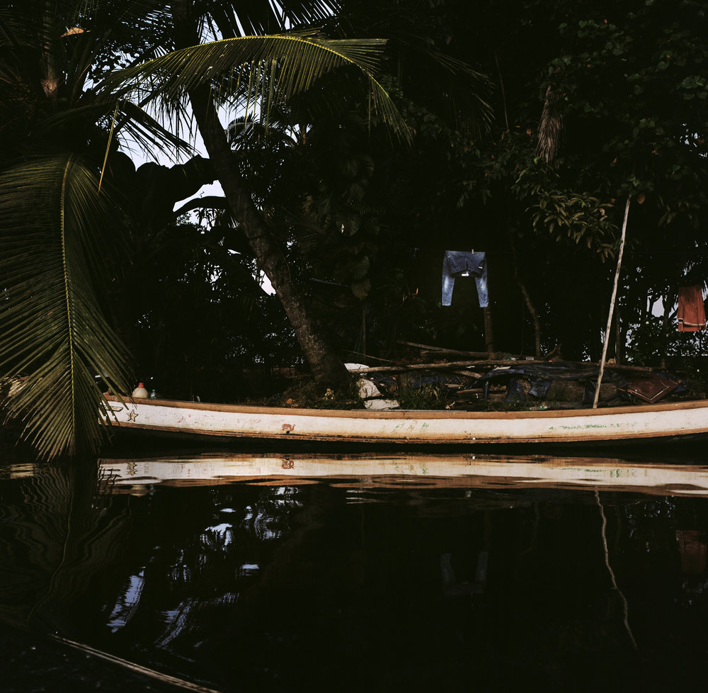Backwaters canoe.
