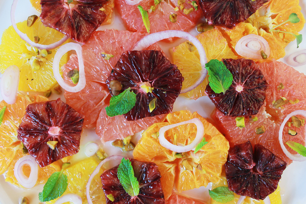 Layers of citrus gradients!