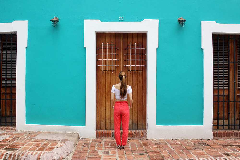The colorful buildings and beautiful doors of Old San Juan are a must see!