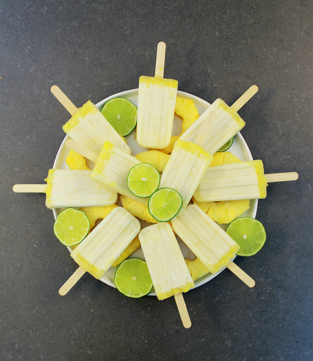 This Vegan Pina Colada Popsicle is not only delicious, but absolutely healthy!