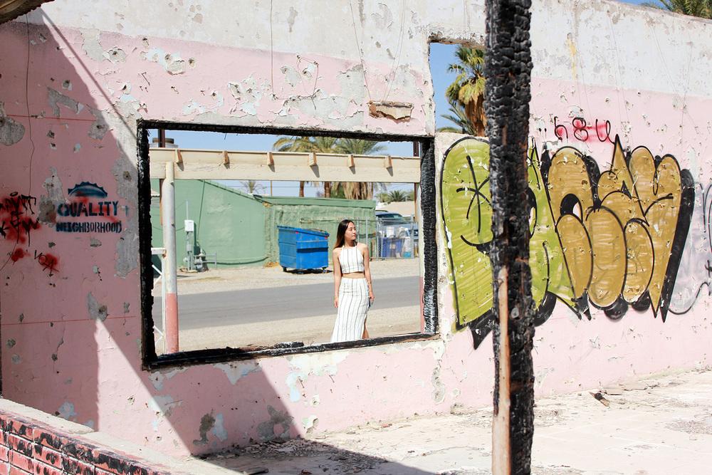 Graffiti in Niland, CA