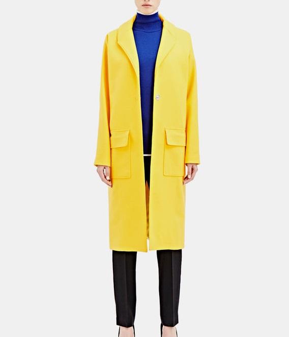 Bobby Kolade long wool coat