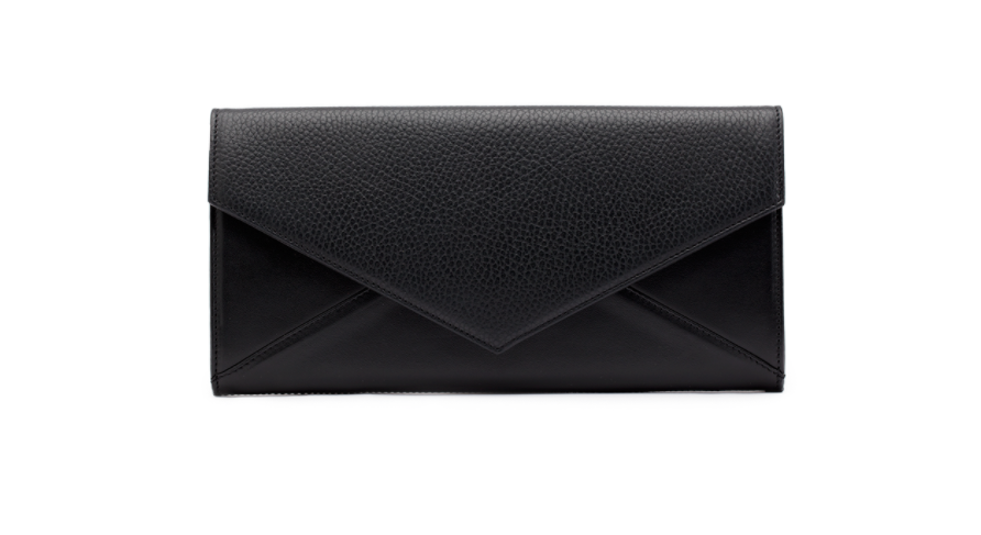 Cuyana Leather Envelope Clutch