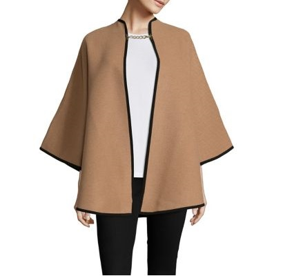 Burberry Wool Cashmere Military Cape
