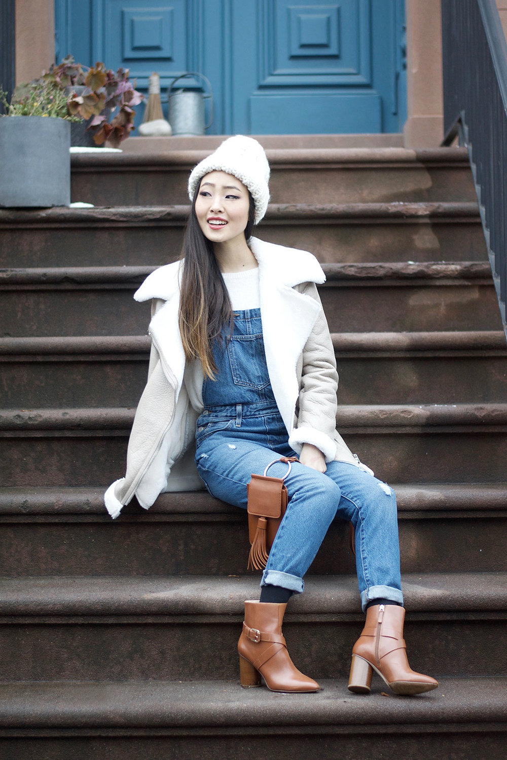 How to Rock Overalls This Winter