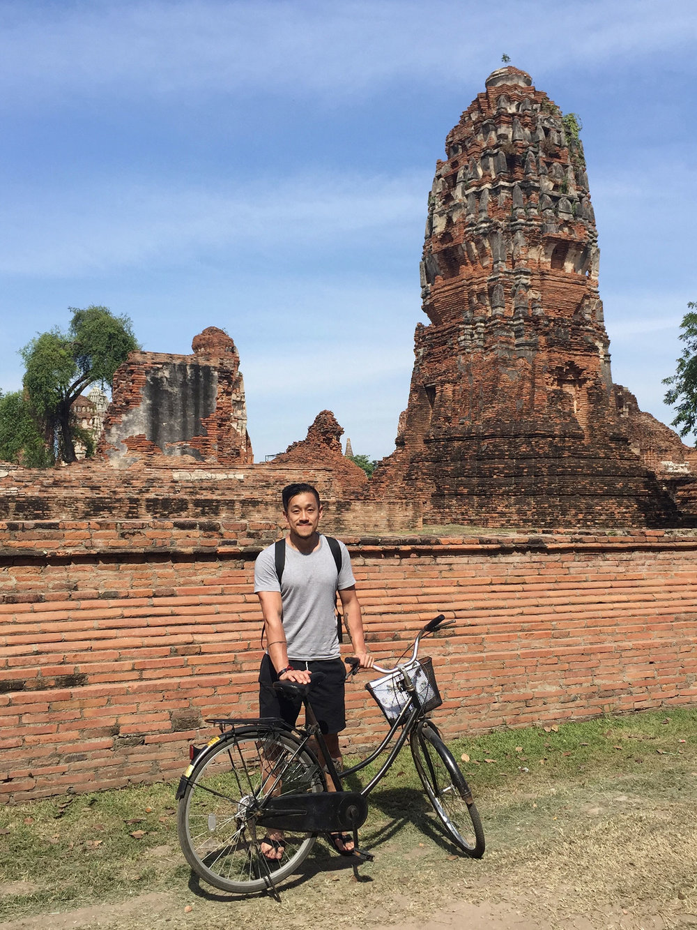 RENT A BIKE:   Once you're in Ayutthaya, renting a bike is a fun way to go from site to site. There are so many temples and ruins to see!