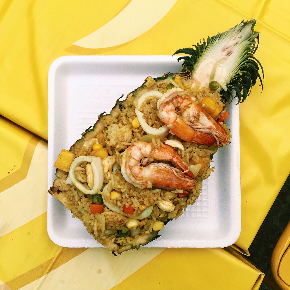 PIneapple fried rice at Bangla Road