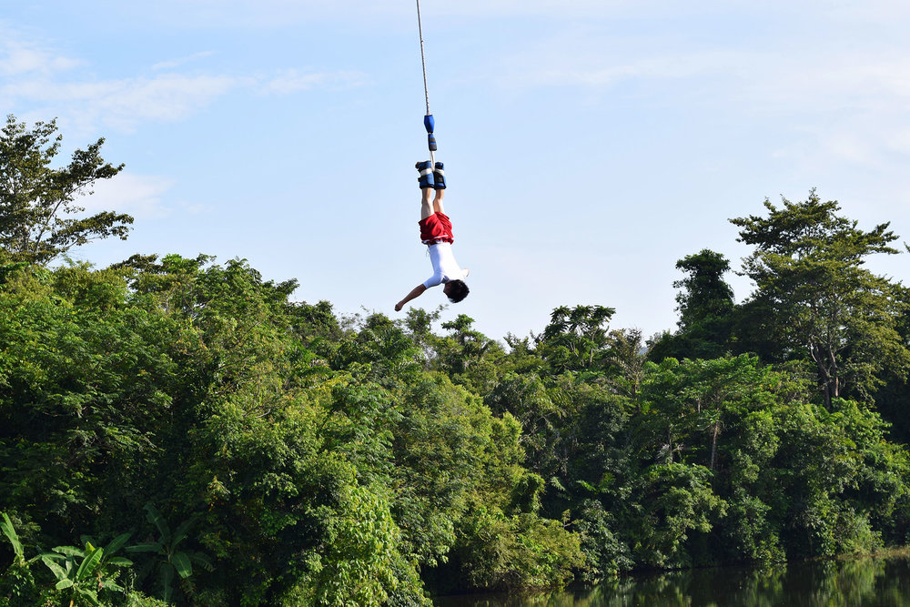 Bungee jumping in Phuket