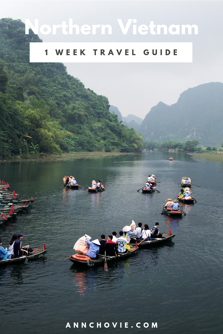 I'm so excited to bring to you my Ultimate 1 Week Travel Guide To Northern Vietnam! With only one week to explore, we decided to focus on Northern Vietnam, with the 3 main destinations being #Hanoi, Ha Long Bay, and Ninh Binh. I've pulled together all the main attractions to see, places to eat, where to stay, and other #traveltips to make this the perfect #travelguide for your trip to Vietnam. #TravelVietnam #visitVietnam #travelitinerary