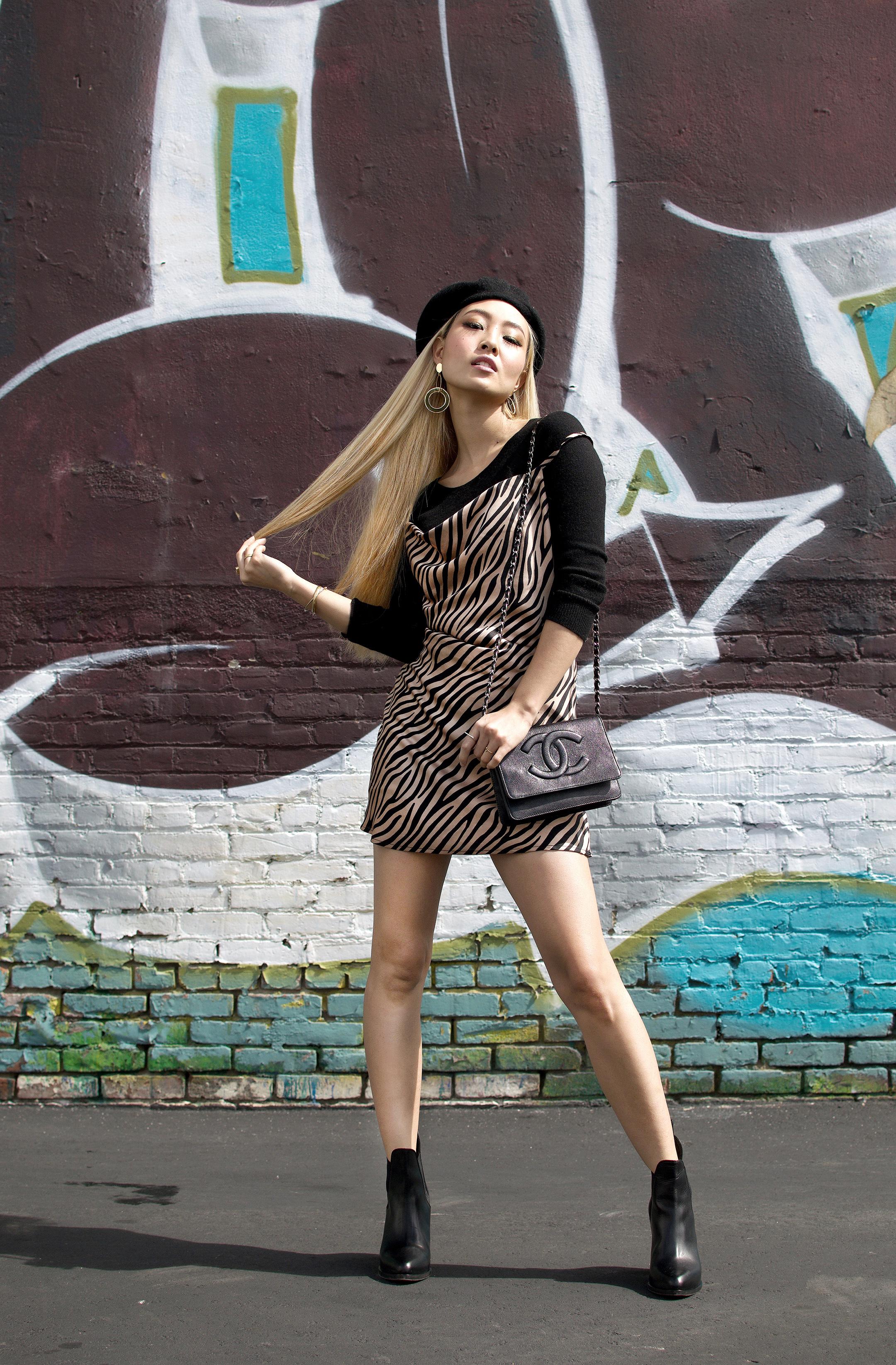 8288dae6a5f9 Rocking The Animal Print Dress — Annchovie