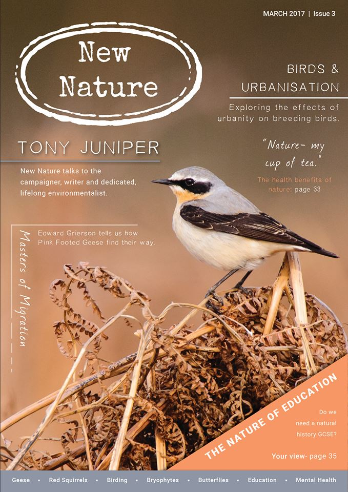 New Nature Magazine March 2017 Cover