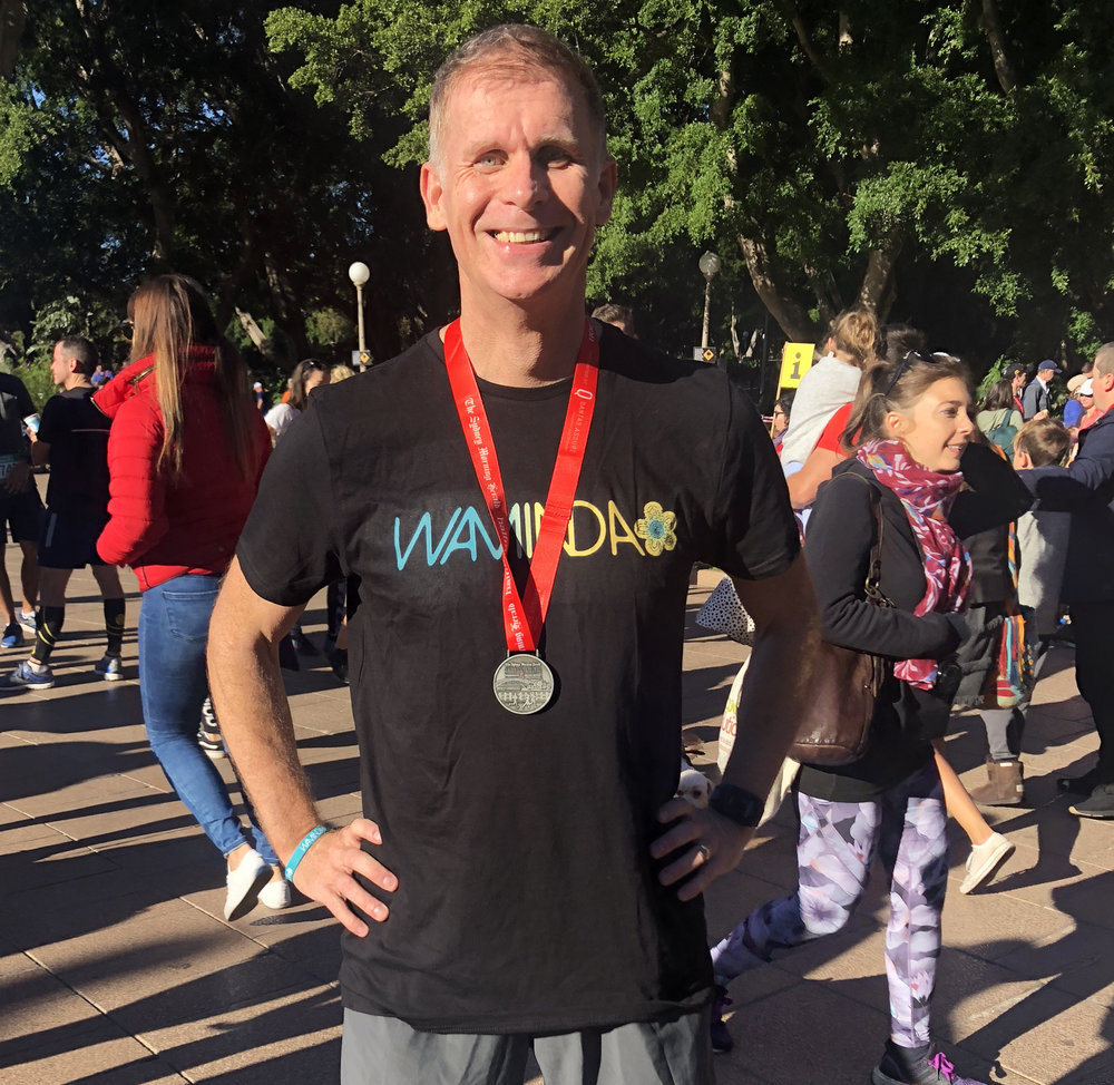 Robbie MacPherson in the Sydney Morning Herald Half Marathon 2018