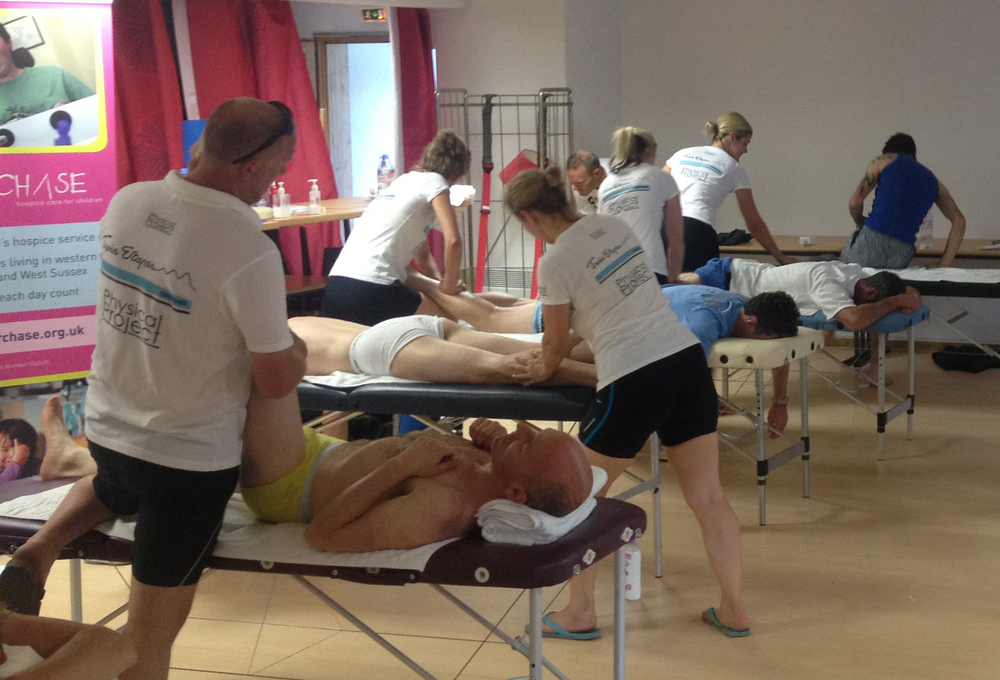 Event Sports Massage; Physical Project.