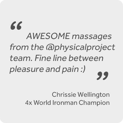 Sports Massage Testimonial